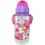MY MELODY BOTTLE WITH STRAW 350ML