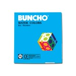 BUNCHO WATERCOLOUR 6CC - 18 COLOURS TUBE
