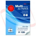 UNI S69 Multipurpose A4 Paper 120gsm 40 sheets