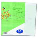 UNI S25 Graph Sheet A4 40 sheets