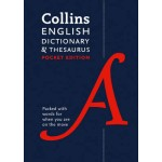 Collins English Dictionary and Thesaurus Pocket edition: All-in-one language support in a portable format