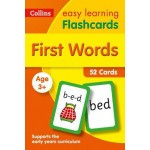 Easy Learning First Words Flashcards: 52 Cards