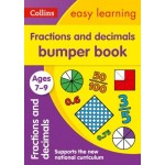 Easy Learning Fractions & Decimals Bumper Book Ages 7-9