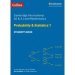 Cambridge International AS & A Level Mathematics Statistics 1 Student's Book