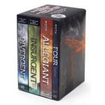 Divergent Series Ultimate Paperback Box Set: Divergent, Insurgent, Allegiant, Four