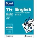 BOND 11+ ASSESS P' ENG 9-10 BK1 '17