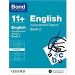 BOND 11+ ASSESS P' ENG 9-10 BK2 '17