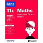 BOND 11+ ASSESS P' MATH 11-12+BK2 '17