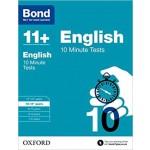 BOND 11+ 10 MIN TESTS ENG 10-11+ '17