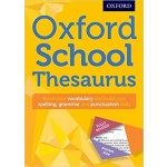 OXFORD SCHOOL THESAURUS PAPERBACK 2016 E