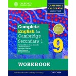 Student Workbook 9 Complete English for Cambridge Lower Secondary