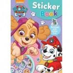 PAW PATROL PINK STICKER BOOK