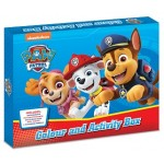 PAW PATROL COLOUR & ACTIVITY BOX