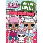 L.O.L SURPRISE HOLIDAY CHILLIN' COLOURING BOOK