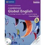 Stage 8 Cambridge Global English Coursebook with Audio CD