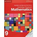 Stage 9 Cambridge Checkpoint Mathematics Coursebook