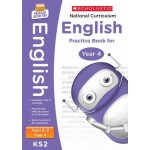 KS2 Year 4 National Curriculum English Practice Book for Ages 8 - 9