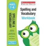KS2 Year 3 Spelling and Vocabulary Workbook Ages 7 - 8