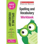 KS1 Year 2 Spelling and Vocabulary Workbook Ages 6 - 7