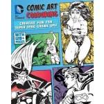 GO-DC COMICS COMIC ART COLOURING FOR FEM