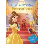 BUKU MEWARNA BEAUTY & THE BEAST