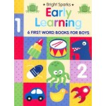C-BABY'S FIRST EARLY LEARNING 6 FIRST WORD BOOKS FOR BOYS