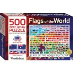 HINKLER JIGSAW PUZZLE FLAGS OF THE WORLD 500PCS