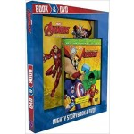 C-MARVEL AVENGERS BOOK AND DVD