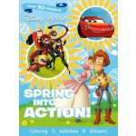 Disney Pixar Spring Into Action!: Coloring, Activites, Stickers