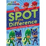 PJ MASKS SPOT THE DIFFERENCE
