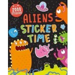 C-ALIENS STICKER TIME: 2000 STICKERS