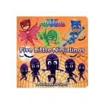 FIVE LITTLE NINJALINOS (PJ MASKS)
