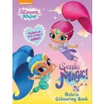 Shimmer & Shine Deluxe Colouring
