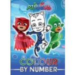 PJ MASKS COLOUR BY NUMBER
