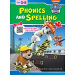 Paw Patrol: Phonics And Spelling: Ages 3-5
