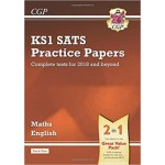 KS1 MATHS&ENG SATS PRAC PAPERS-PACK 1'18