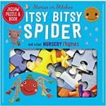 ITSY BITSY SPIDER(JIGSAW PUZZLE & BK)