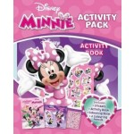 DISNEY MINNIE COLOURING BOOK & ACTIVITY BOOK (2IN1 ACTIVITY BAG)