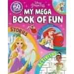 DISNEY PRINCESS MY MEGA BOOK OF FUN