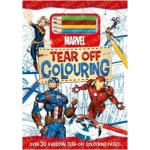 Marvel: Tear Off Colouring