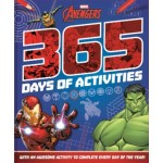 MARVEL AVENGERS 365 PUZZLES & ACTIVITIES