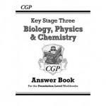 KS3 Science Answers for Workbooks (Biology/Chemistry/Physics) - Foundation