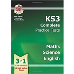 KS3 Complete Practice Tests - Science, Maths and English