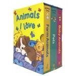 P-SLIPCASE: ANIMALS I LOVE