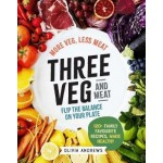 THREE VEG AND MEAT : MORE VEG, LESS MEAT