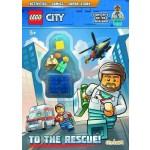LEGO CITY: TO THE RESCUE (BOOK+ MINI FIGURE)