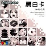 宝贝堂婴幼儿视觉卡:黑白卡(0-12月)