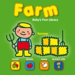 C-BABY'S FIRST LIBRARY - FARM