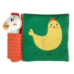 P-SQUEAKY ANIMAL SOFT BOOK CHICKEN