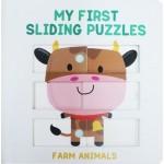 P-MY FIRST SLIDING PUZZLES: FARM ANIMALS